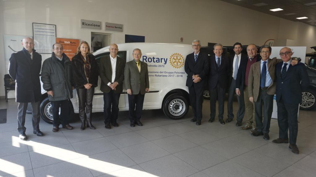 I Rotary Bolognesi per il progetto Casa Di Strada
